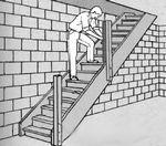 Лестница в мастерской