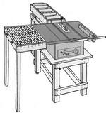 Монтаж раздвижного стола с открытой крышкой